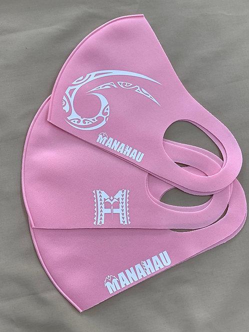 マナハウ オリジナルマスク<ピンク>