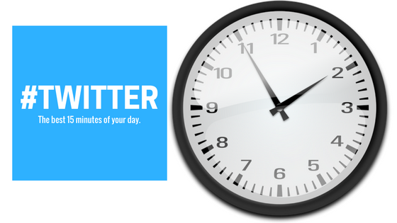 #Twitter- The Best 15 minutes you will spend every day