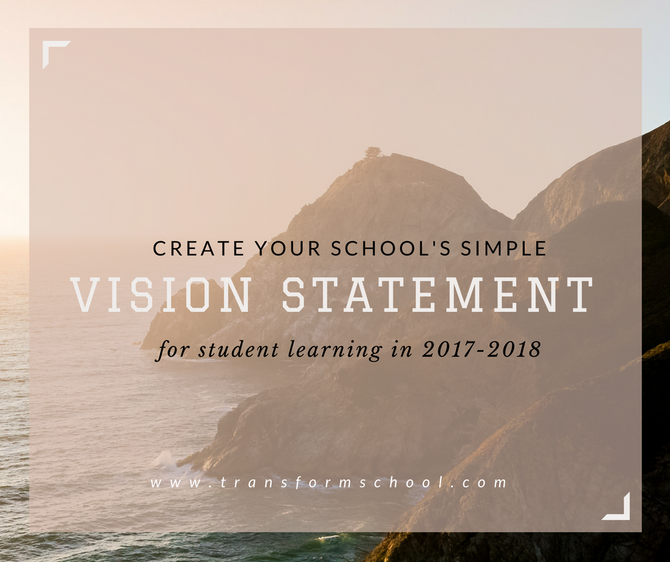 Your Vision Statement in 20 words or Less
