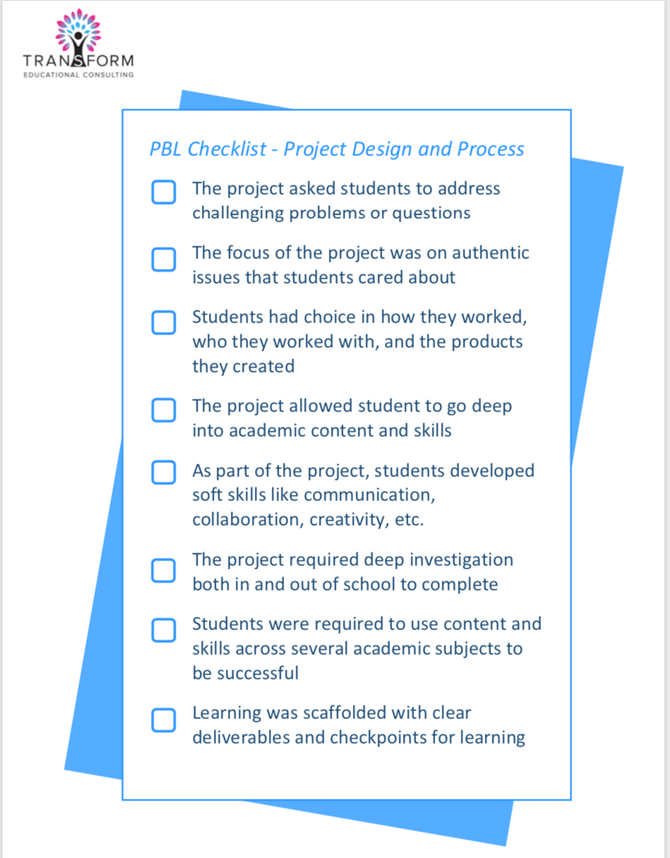 Learning Design Checklist: Evaluating and Reflecting on Past Projects Using a Simple Checklist