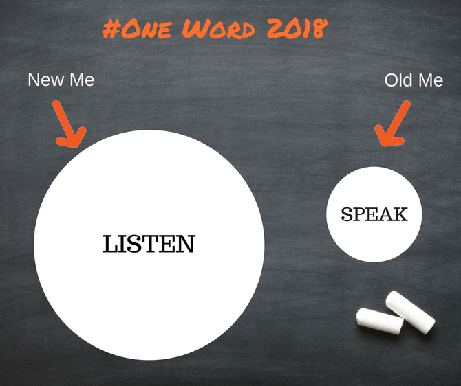 Listening: My Key to Growth in 2018