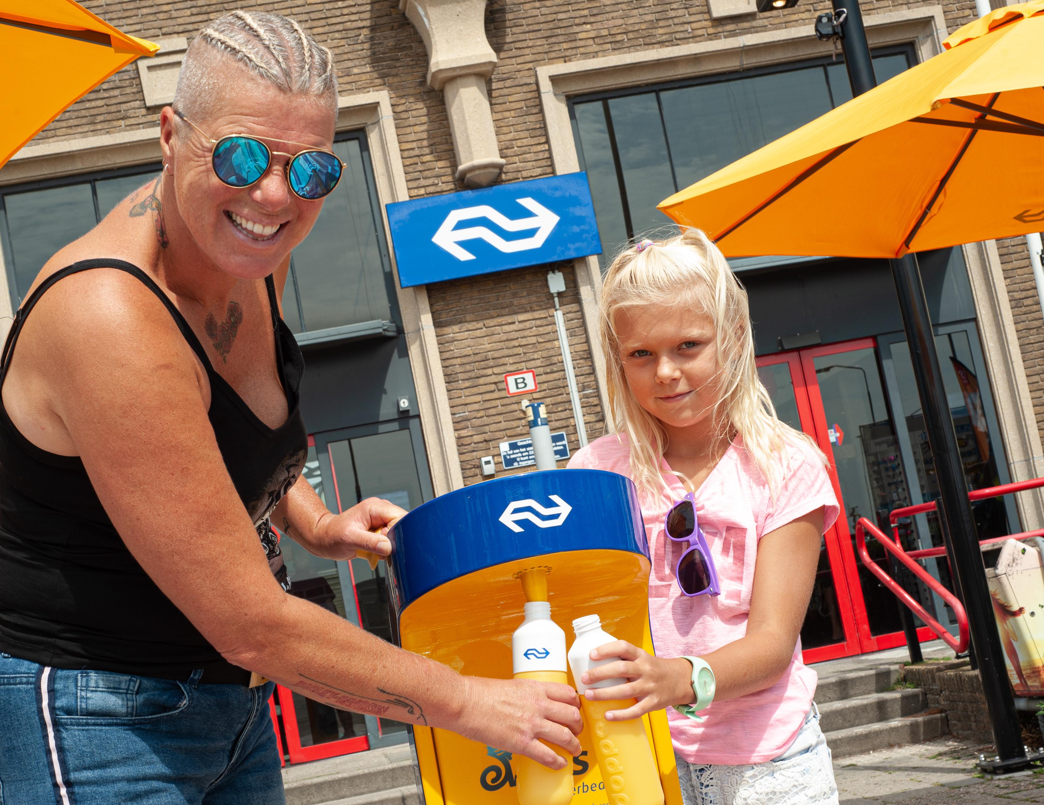 NS promotie watertappunt