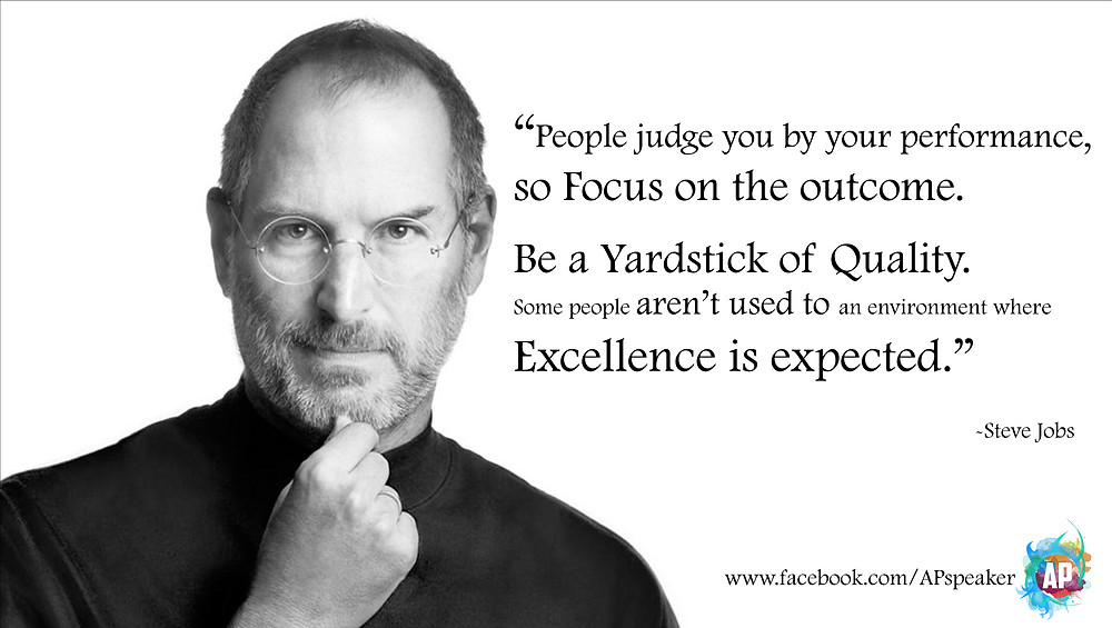 Steve Jobs Public Speaking Quote
