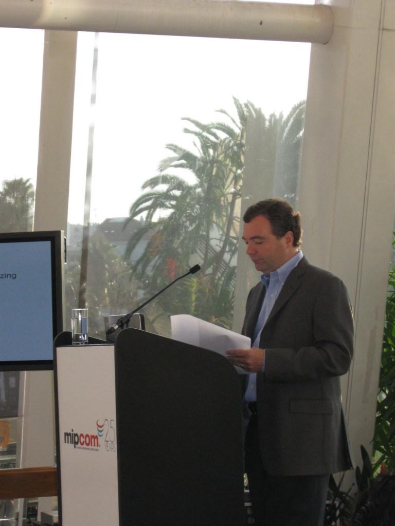 Jeff Ulin Speaking in Cannes