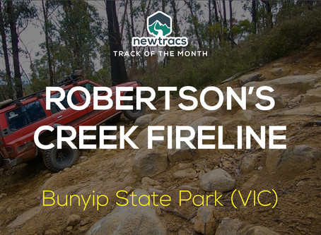 Newtracs 4wd Track of the Month - Robertson's Creek Fireline