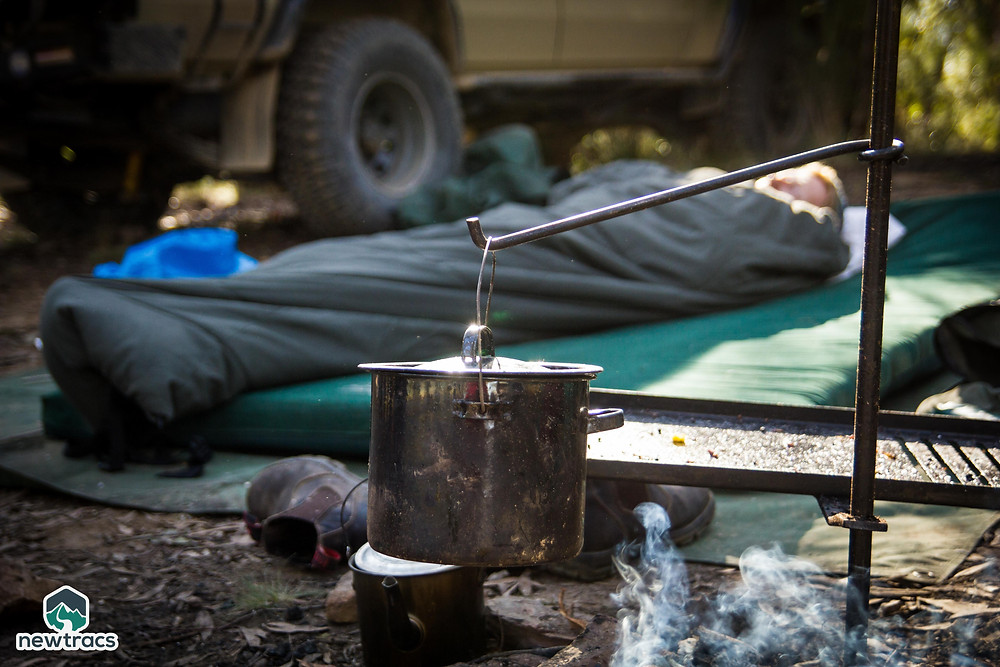Set up camp in your backyard for an easy mini holiday.