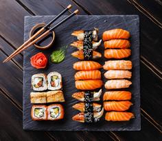 Sharable sushi!