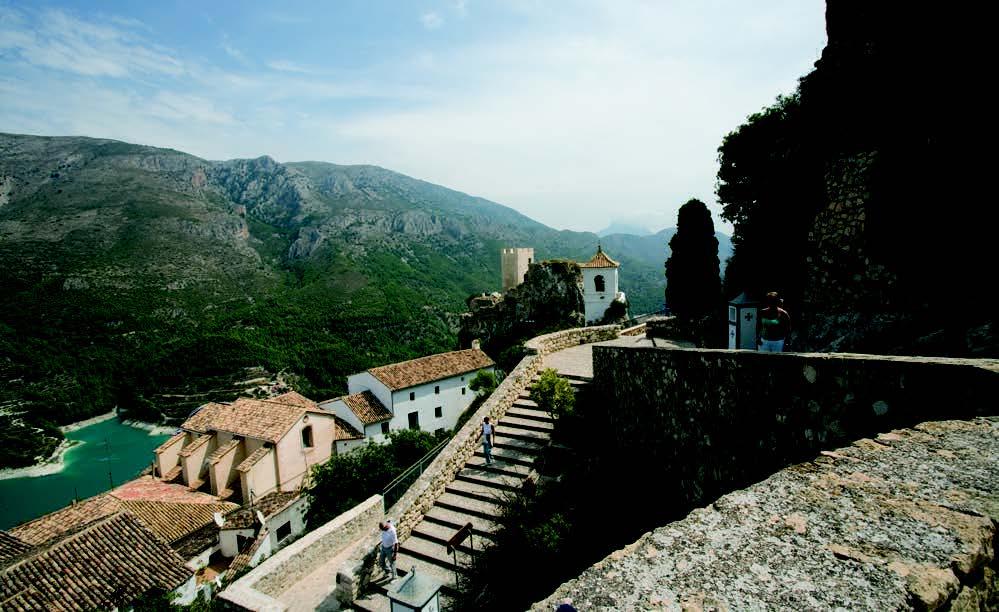 GUADALEST (20 km from Alfaz del Pi)