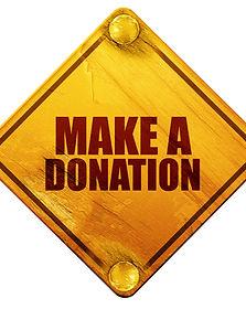 Make a Donation Sign AdobeStock_10961261