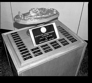 Peter W. Walsh Award Trophy