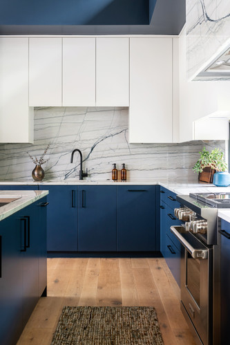 Modern Home Kitchen Close up