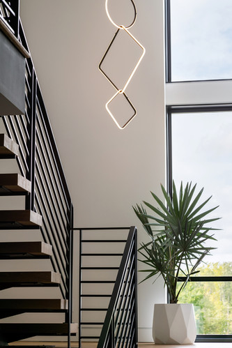 Modern Home Stairs Close up