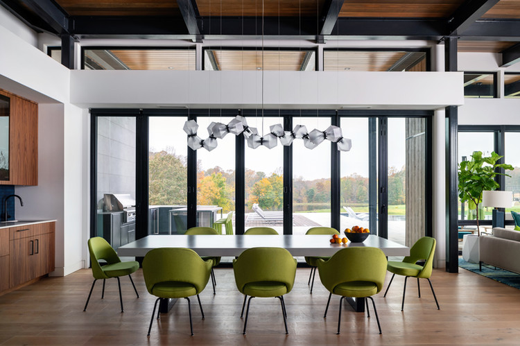 Modern Home Dining Area