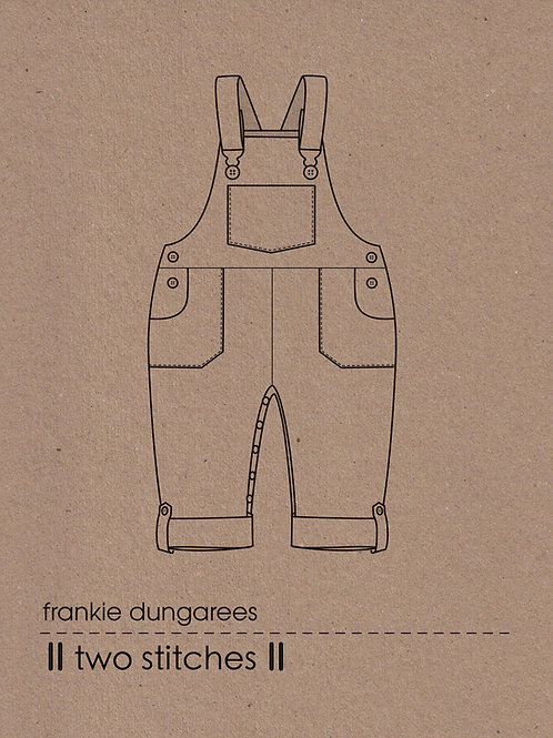 Frankie Dungarees Pattern x 3
