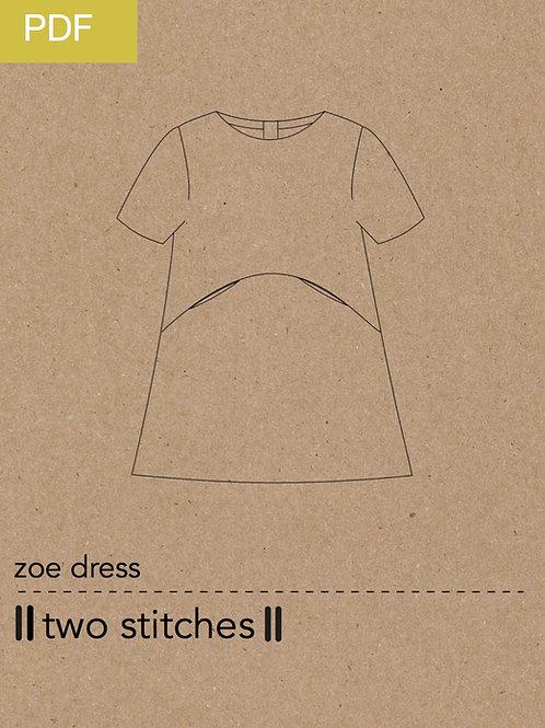 zoe dress - PDF pattern