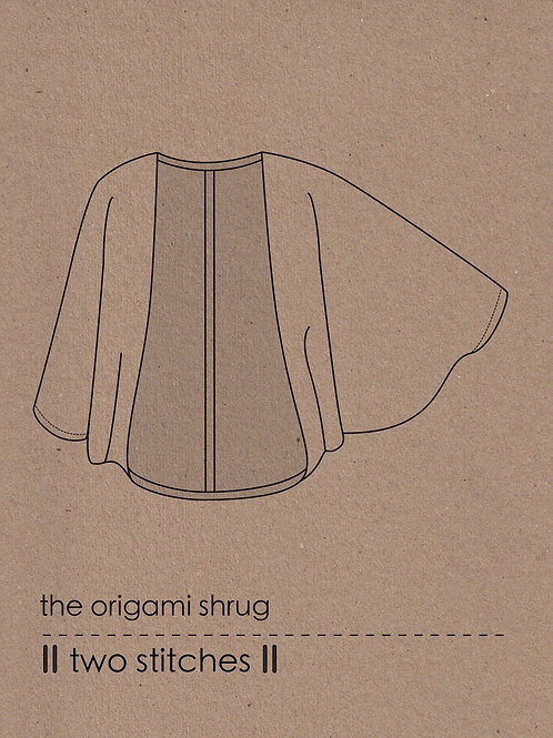 origami shrug
