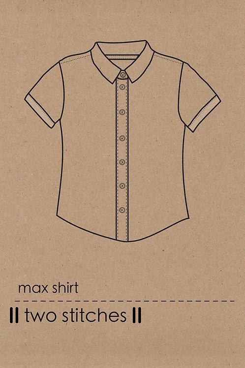 Max Shirt - PDF Pattern