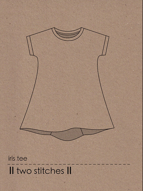iris tee - PDF pattern