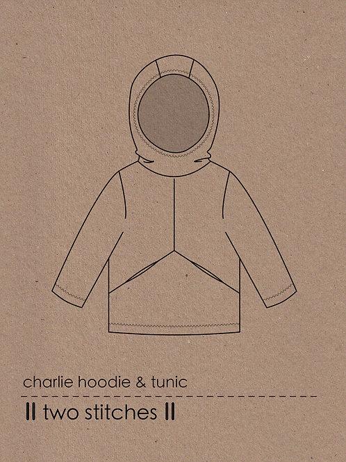 Charlie Hoodie & Tunic Pattern x 3