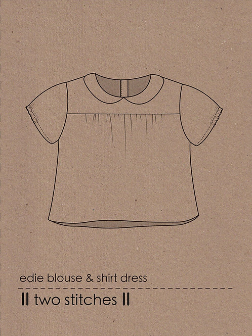 edie blouse & shirt dress - PDF pattern