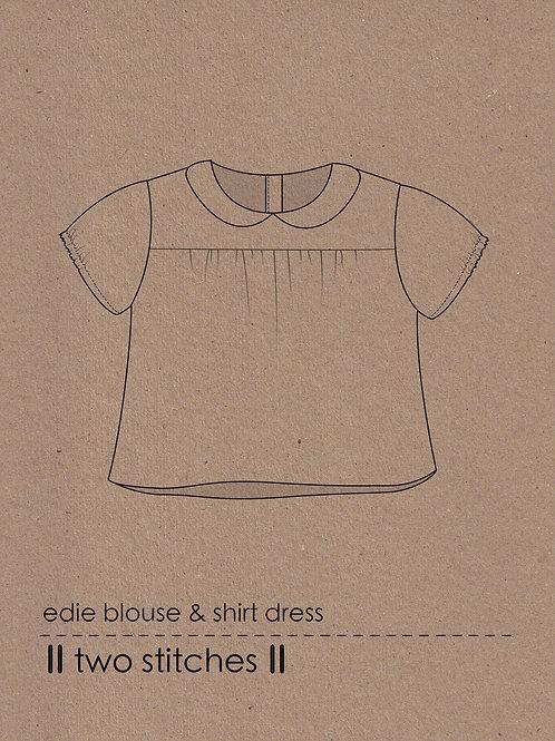 Edie Blouse & Shirtdress Pattern x 3