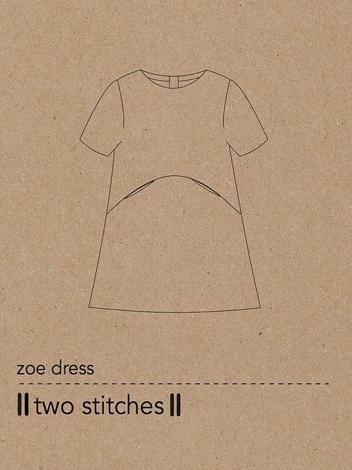 Zoe Dress Pattern x 3