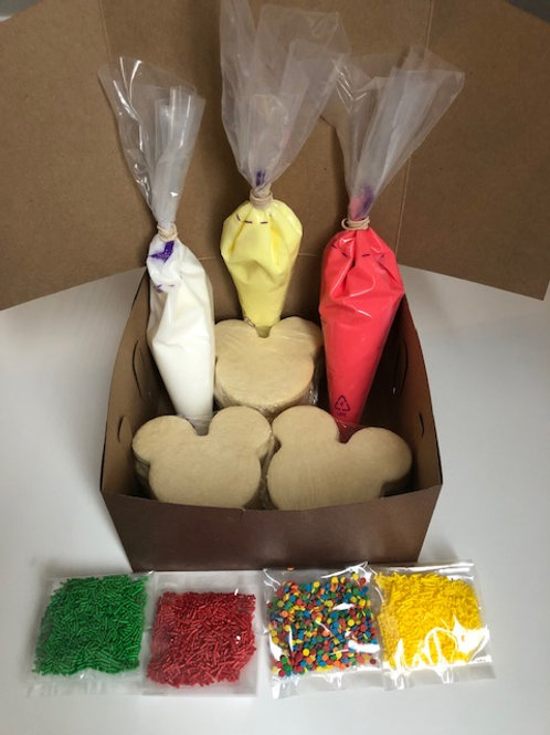 Mickey Mouse Cookie Decorating Kit