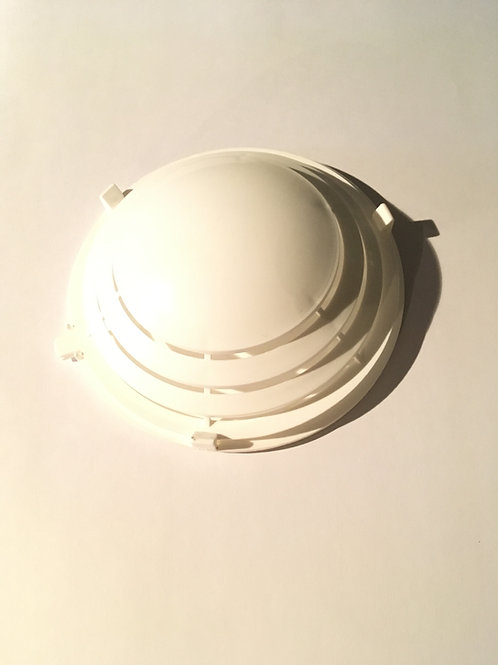 Zelfklevende ventilatierooster WIT - Clip de ventilation avec adhésif