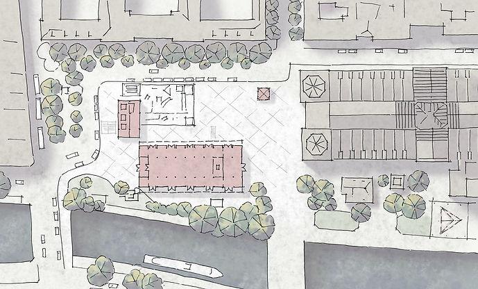 Notre Dame Site Plan