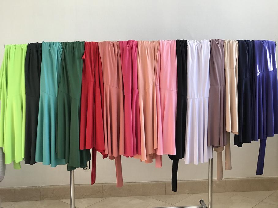 seaside maxi wrap skirts