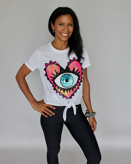 EVIL EYE TRENDY T-SHIRT