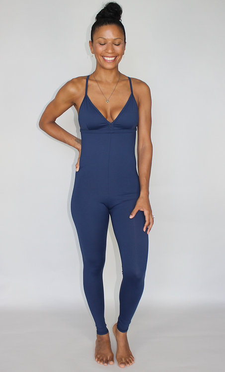 NAVY ORIGINAL YOGA JUMPSUIT