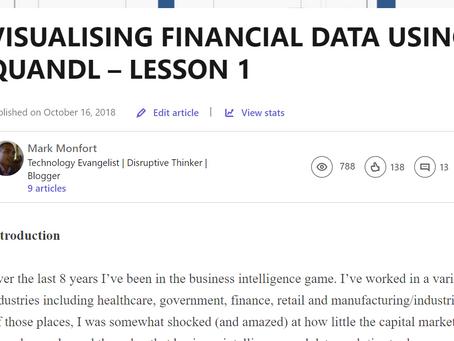 VISUALISING FINANCIAL DATA USING QUANDL LESSONS