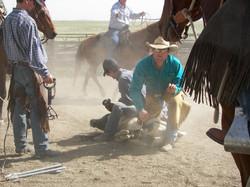 Branding On Sale Horses-Hiway Corrals  5-1-06 042