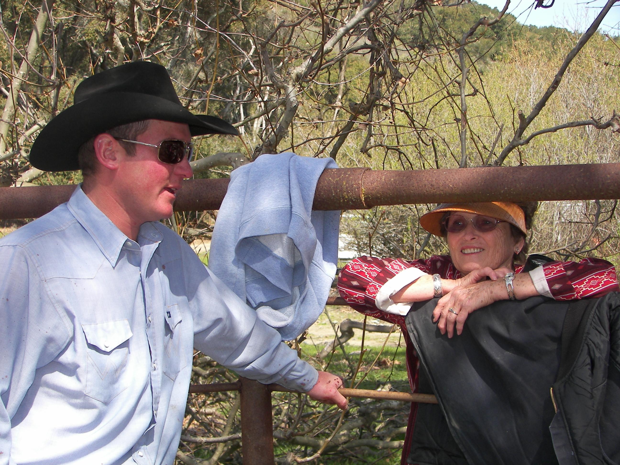 Caleb & Gramma Nola  2007_2