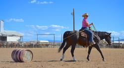 Cathie & Bird_Draggin Barrel 2- Kelly B Photo