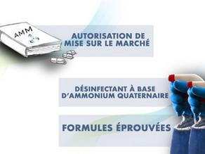 CRÉATION D'UN DOSSIER D'AMM POUR LES BIOCIDES À BASE D'AMMONIUM QUATERNAIRE