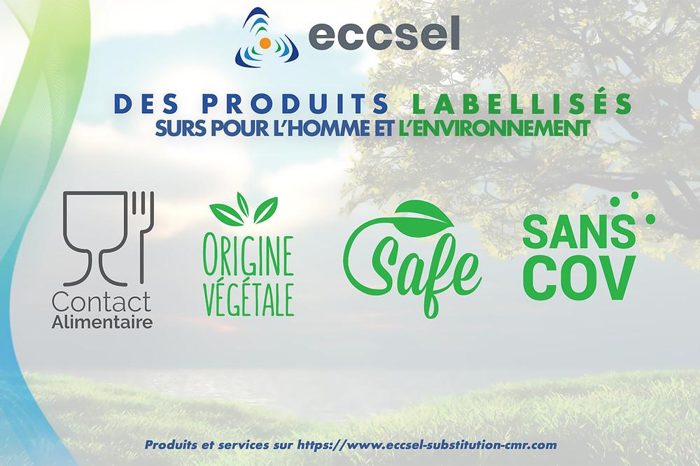 Labels écoresponsables ECCSEL Hygiène et substitution de solvants