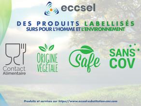 Des produits ÉCORESPONSABLES! Découvrez nos labels!