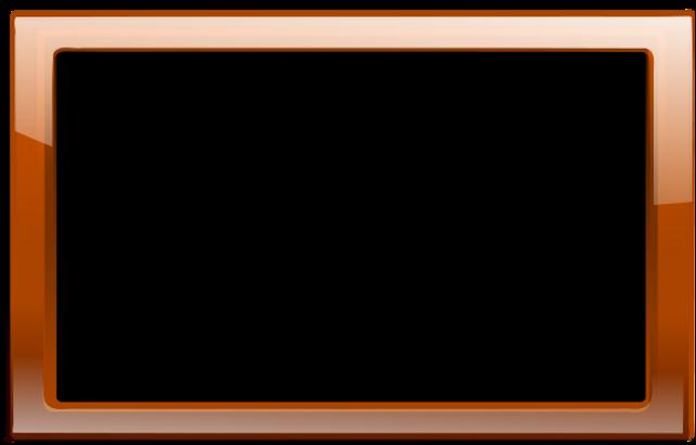 PngJoy_orange-square-wood-frame-vector-p
