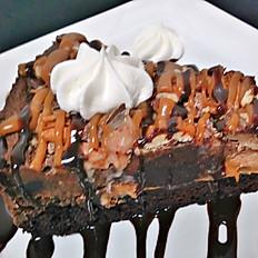 Caramel Fudge Pecan Pie