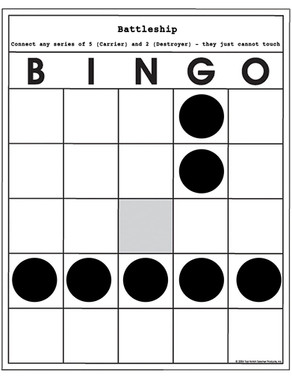 No ordinary bingo games