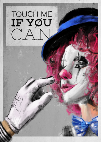 Touch me if you can Poster