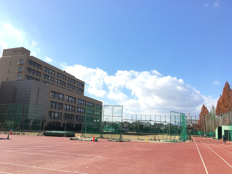 園田学園女子大学第2グラウンド
