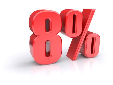 Factura IVA 8%