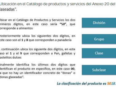 ¿Cómo usar el Nuevo Catálogo de Productos del SAT?