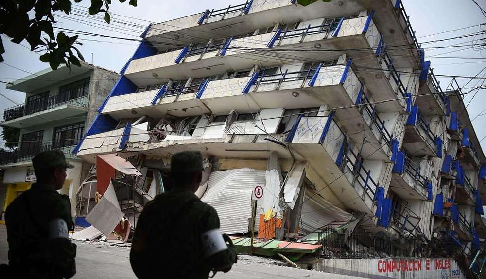 sismo en Oaxaca, zonas afectadas