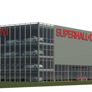 Showroom Autopark Norge Superhall® - Stå