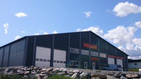 Årnes - Vianor Romerike Dekkservice AS - Superhall® Stålhall
