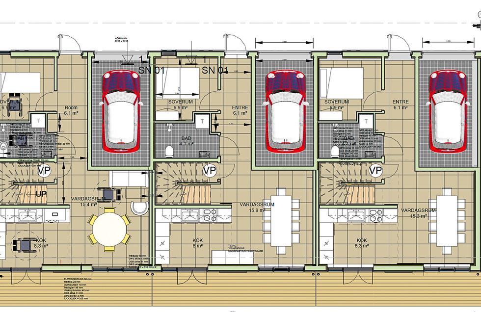 MAXHUS | Nyproduktion Strömstad Poppelvägen 18, 20, 22 & 24, 26, 28, Aspvägen 3, 5